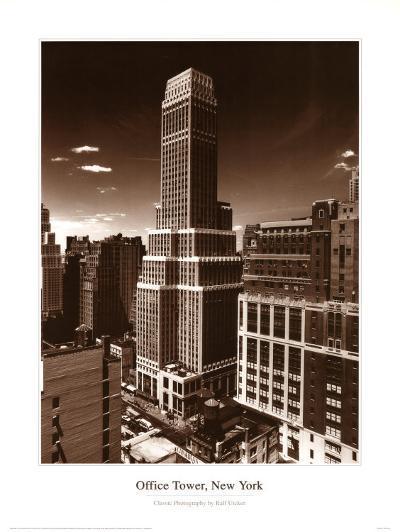 Office Tower Ny-Ralph Uicker-Art Print