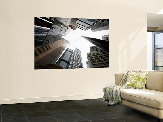 Office Towers, Central-Greg Elms-Wall Mural