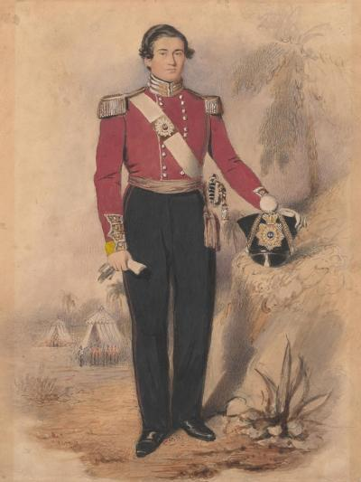Officer of a Battalion Company, 1840--Giclee Print