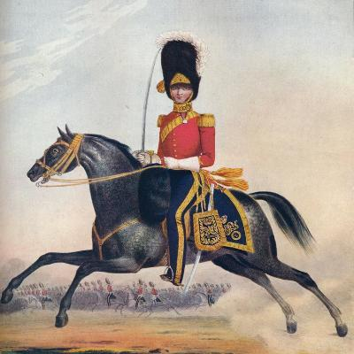 Officer of the 2nd (R. N. Brit.) Dragoons, C1833. (1914)--Giclee Print