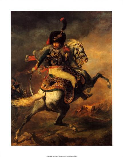 Officer of the Imperial Guard-Th?odore G?ricault-Art Print