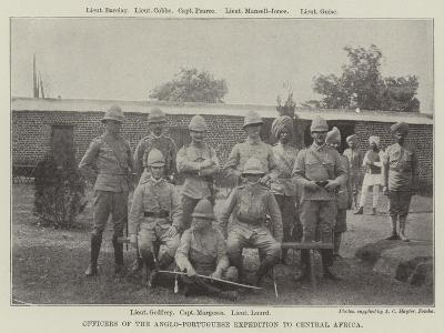 Officers of the Anglo-Portuguese Expedition to Central Africa--Giclee Print