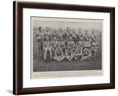 Officers of the Fighting Fifth (Northumberland Fusiliers)--Framed Giclee Print