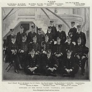 Officers of the Royal Yacht Victoria and Albert