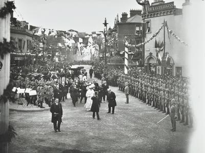 Official Opening of the Rotherhithe Tunnel, Bermondsey, London, 1908--Photographic Print
