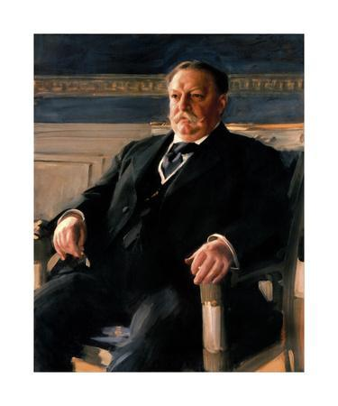 Official White House Portrait of William Howard Taft-Anders Zorn-Premium Giclee Print