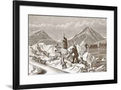 Officious Foxes, 1876--Framed Giclee Print