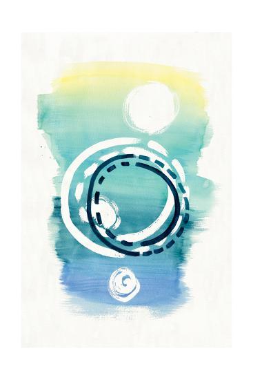 Offset Shapes Circle-Elyse DeNeige-Art Print