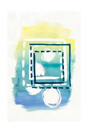 Offset Shapes Square-Elyse DeNeige-Art Print