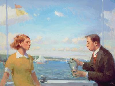 Offshore Offering, 2003-04-Alan Kingsbury-Giclee Print