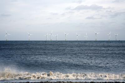 Offshore Wind Farm-Victor De Schwanberg-Photographic Print