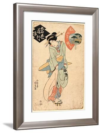 Ofusa Tokubei-Utagawa Toyokuni-Framed Giclee Print