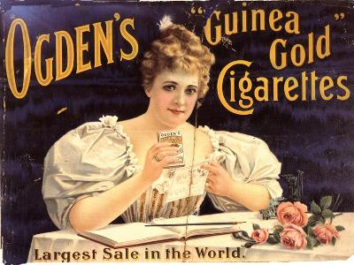 Ogden's, Cigarettes Smoking Glamour, UK, 1900--Giclee Print