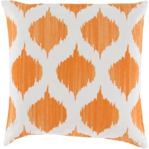 Ogee Down Fill Pillow - Tangerine