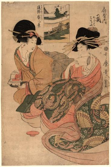 Ogiyauchi Tsukasa-Kitagawa Utamaro-Giclee Print