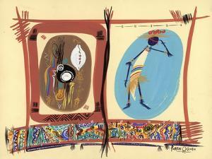 Element of Black Culture, 2005 by Oglafa Ebitari Perrin