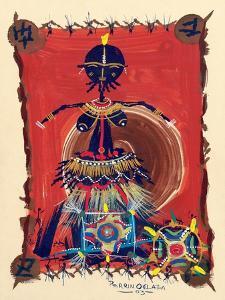 Female Dance Procession, 2003 by Oglafa Ebitari Perrin