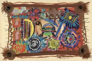 Turtle Wisdom, 2003 by Oglafa Ebitari Perrin