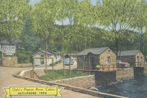 Ogle's Pigeon River Cabins, Gatlinburg, Tennessee, C.1955