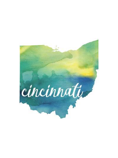 OH Cincinnati-Paperfinch-Art Print