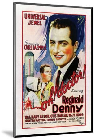 Oh Doctor 1925 Giclee Print Art Com