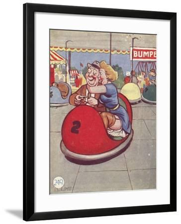 """Oh, Eric! Wiggle it About Some More""--Framed Giclee Print"