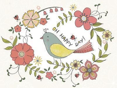 Oh Happy Day-Jyotsna Warikoo-Giclee Print