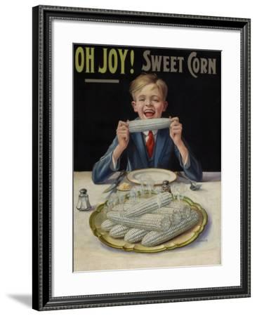 Oh Joy! Sweet Corn- Hannert-Framed Art Print