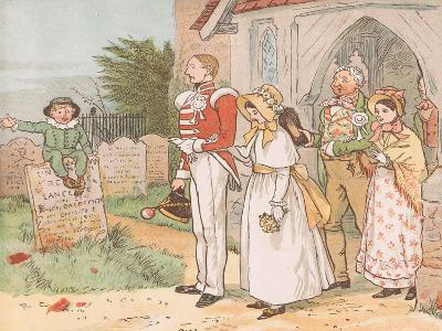 Oh! Never Despise the Soldier Lad-Though His Station Be But Low-Randolph Caldecott-Giclee Print