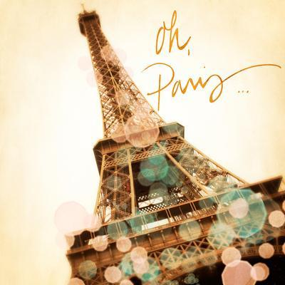 Oh Paris-Emily Navas-Premium Giclee Print