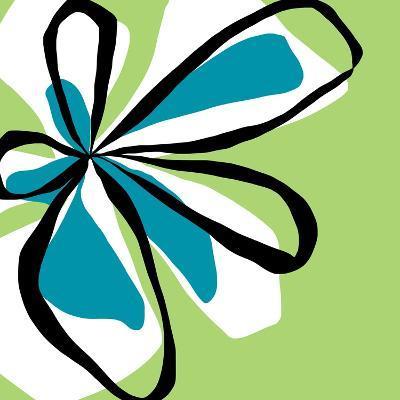 Oh So Pretty - Green-Jan Weiss-Art Print