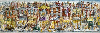 Oh, the Street Where I Lived-Bill Bell-Giclee Print