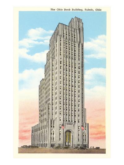 Ohio Bank Building, Toledo, Ohio--Art Print
