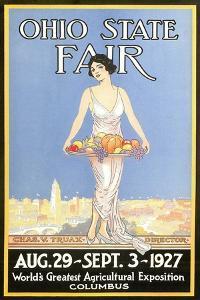 Ohio State Fair Poster, Columbus