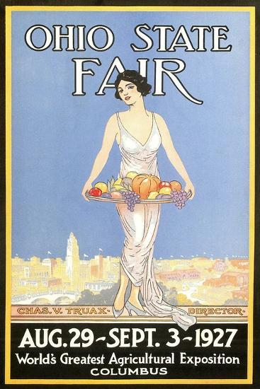 Ohio State Fair Poster, Columbus--Art Print