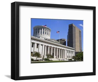 Ohio Statehouse, Columbus, Ohio, United States of America, North America-Richard Cummins-Framed Photographic Print