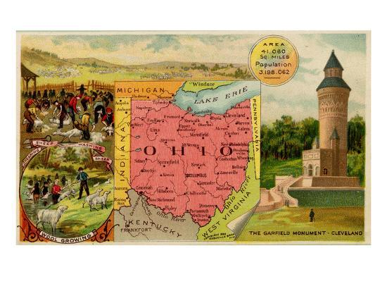 Ohio-Arbuckle Brothers-Art Print