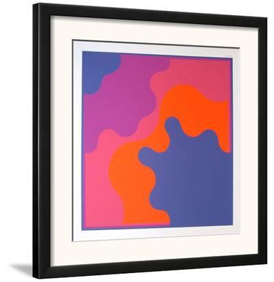 Ohne Titel 1-Karl Gerstner-Framed Art Print
