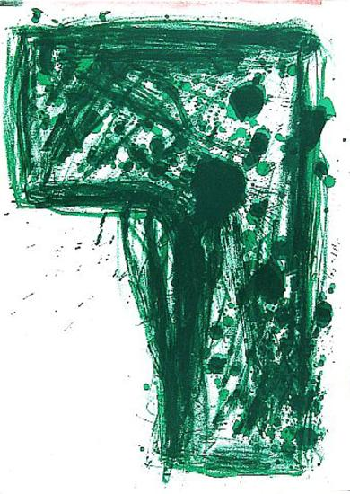 Ohne Titel (One Cent Life)-Walasse Ting-Art Print