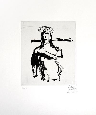 Ohne Titel (Ulysses)-Markus L?pertz-Limited Edition