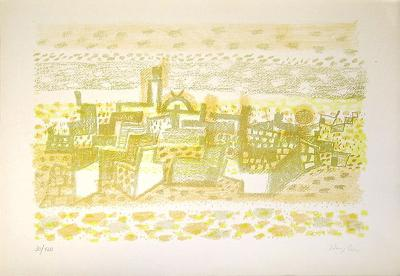 Ohne Titel VIII-Eduard Bargheer-Limited Edition