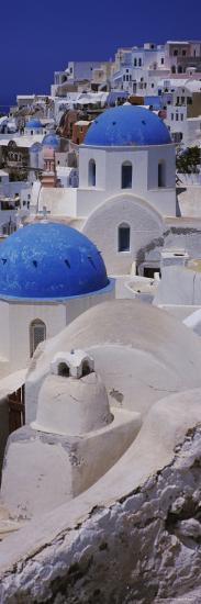 Oia Church, Santorini, Greece--Photographic Print