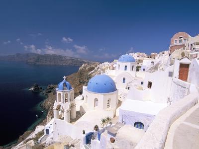 Oia (Ia), Island of Santorini (Thira), Cyclades Islands, Aegean, Greek Islands, Greece, Europe-Sergio Pitamitz-Photographic Print