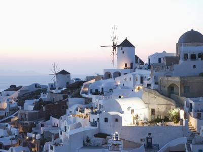 Oia, Santorini, Cyclades, Greek Islands, Greece, Europe-Angelo Cavalli-Photographic Print