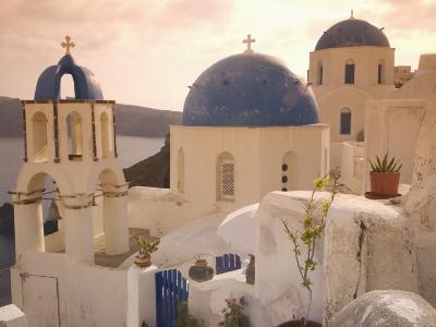 Oia, Santorini, Cyclades, Greek Islands, Greece, Europe-Angelo Cavalli-Photographic Print