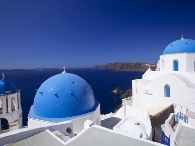 Oia, Santorini, Cyclades, Greek Islands, Greece, Europe-Sakis Papadopoulos-Photographic Print