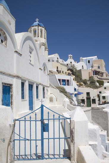 Oia, Santorini (Thira), Cyclades, Greek Islands, Greece, Europe-Angelo Cavalli-Photographic Print