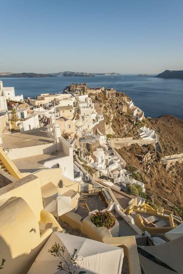 Oia, View of the Village-Guido Cozzi-Photographic Print