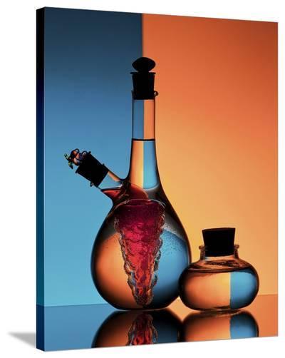 Oil And Vinegar-Aida Ianeva-Stretched Canvas Print