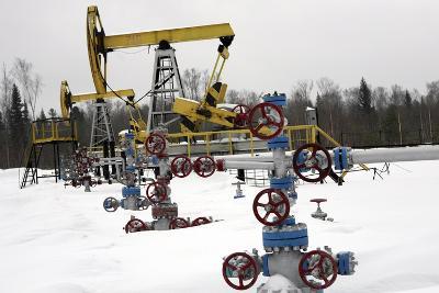 Oil Field-Ria Novosti-Photographic Print